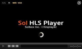 Screenshot of Sol HLS Player