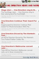 Screenshot of One Direction News & More