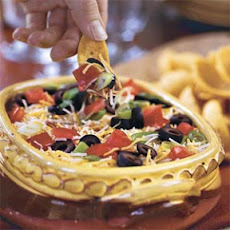 Layered Spicy Black Bean Dip