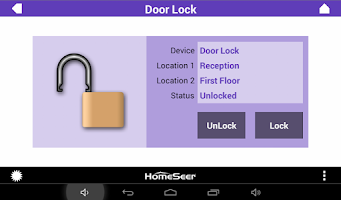 Screenshot of HSTouch Home Automation