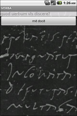 Verba-Android Latin Dictionary