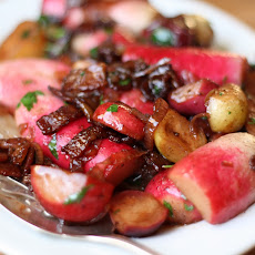 Braised Spring Radishes
