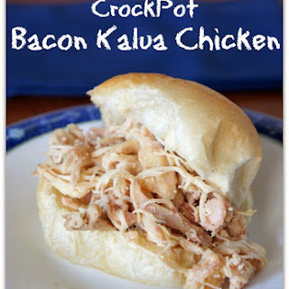 Slow Cooker Bacon Kalua Chicken
