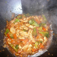 Low-Fat Pineapple Chicken Stir Fry