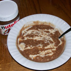 Easy 5 - Minute Nutella Champorado (Filipino-Style)