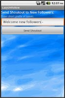 Screenshot of LazyUnfollow Lite For Twitter