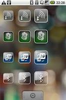 Screenshot of OneClick Widget