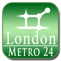 London tube + NR (Metro 24) icon