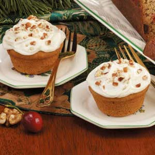 Frosted Pumpkin Muffins