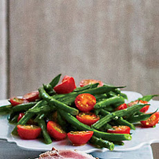 Green Bean–Tomato Salad with Herbs