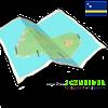 CURAÇAO & BONAIRE travel map