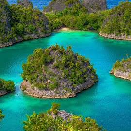 Pianemo (Raja Ampat) - West Papua by Roy Singh - Landscapes Waterscapes ( ampat, indonesia, papua, west, raja,  )