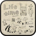 Life time go launcher theme 1.2 Apk