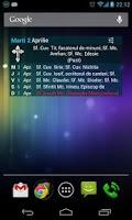 Screenshot of Calendar Ortodox cu Widget