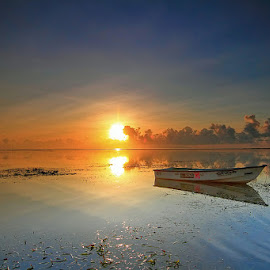 Boat by Denny Iswanto - Landscapes Beaches