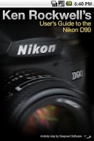 Screenshot of Nikon D90 Guide
