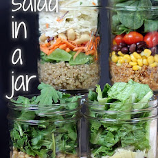 Curry Quinoa Salad-In-A-Jar