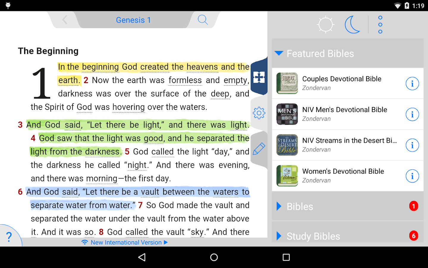 NIV 50th Anniversary Bible Screenshot 18