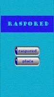 Screenshot of Raspored CC