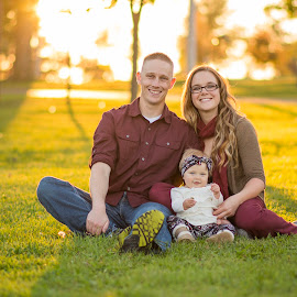 Family in the park by Marissa Frederick - People Family ( family, fall, baby, kids, photography, couples )