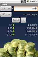 Screenshot of PMoney - Currency Converter