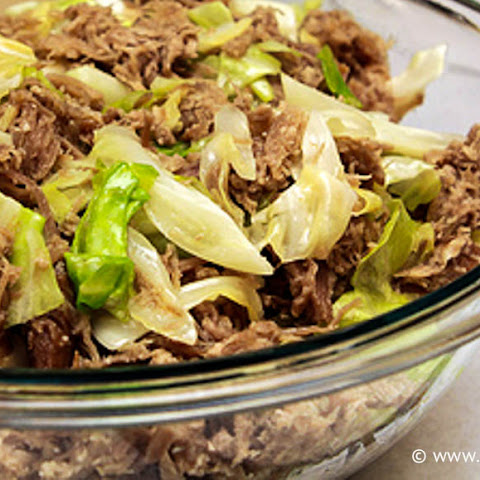 Kalua Pork with Cabbage