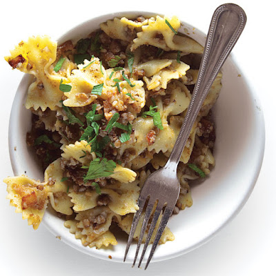 Kasha Varnishkes (Bow-Tie Pasta with Buckwheat Groats)