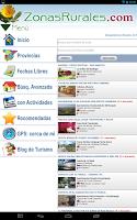 Screenshot of Casas Rurales en Zonas Rurales