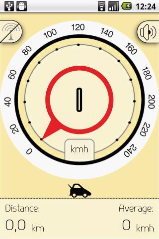 Audio Speedometer
