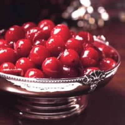 A Confit of Cranberries for serving with Game or Duck