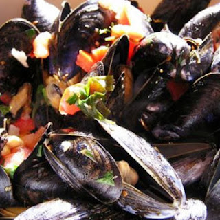Spicy Southwest Mussels
