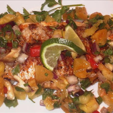 Cajun Grilled Catfish With Apricot Salsa