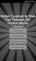 Screenshot of Theme Pack 6 - iSense Music