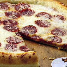 Stuffed Crust Pepperoni Pizza