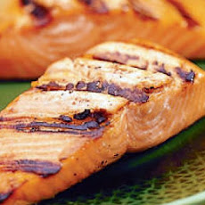Easy Glazed Grilled Salmon