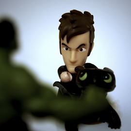Doctor Mashup by Rhiannon Crothers - Artistic Objects Toys ( pose, toy, toys, dragon, doctor who, hulk, mashup )