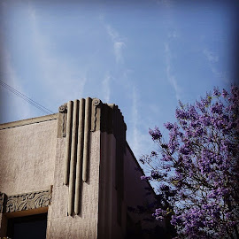 Vapor trails by Paul Stanley - Instagram & Mobile Instagram ( hollywood, bluesky )