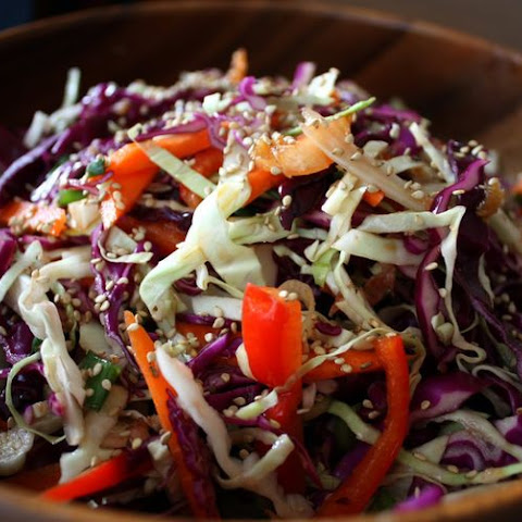 Peter Rabbit's Dream Salad (AKA Asian Slaw)