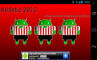 Screenshot of Aupa Athletic