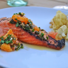 Salmon + Grapefruit