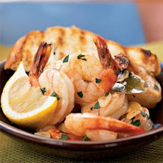 Spanish-Style Shrimp with Garlic