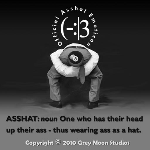 Asshat's 8-Ball LOGO-APP點子