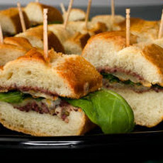 Mini Tapenade and Manchego Sandwiches Recipe