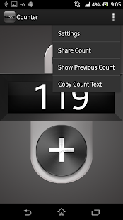 Click Counter - screenshot
