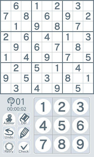 Sudoku by Nikoli Medium 04
