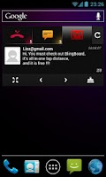 Screenshot of BlingBoard: Social Widget