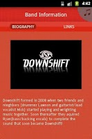 Screenshot of Downshift