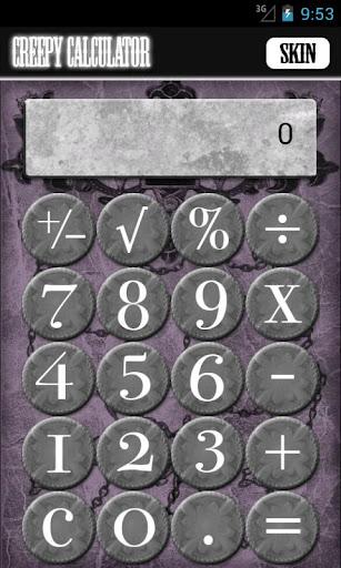 Creepy Calculator