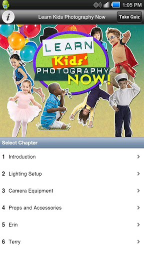 Learn Kids' Photography Now