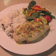 Creamy Feta Stuffed Chicken Breasts